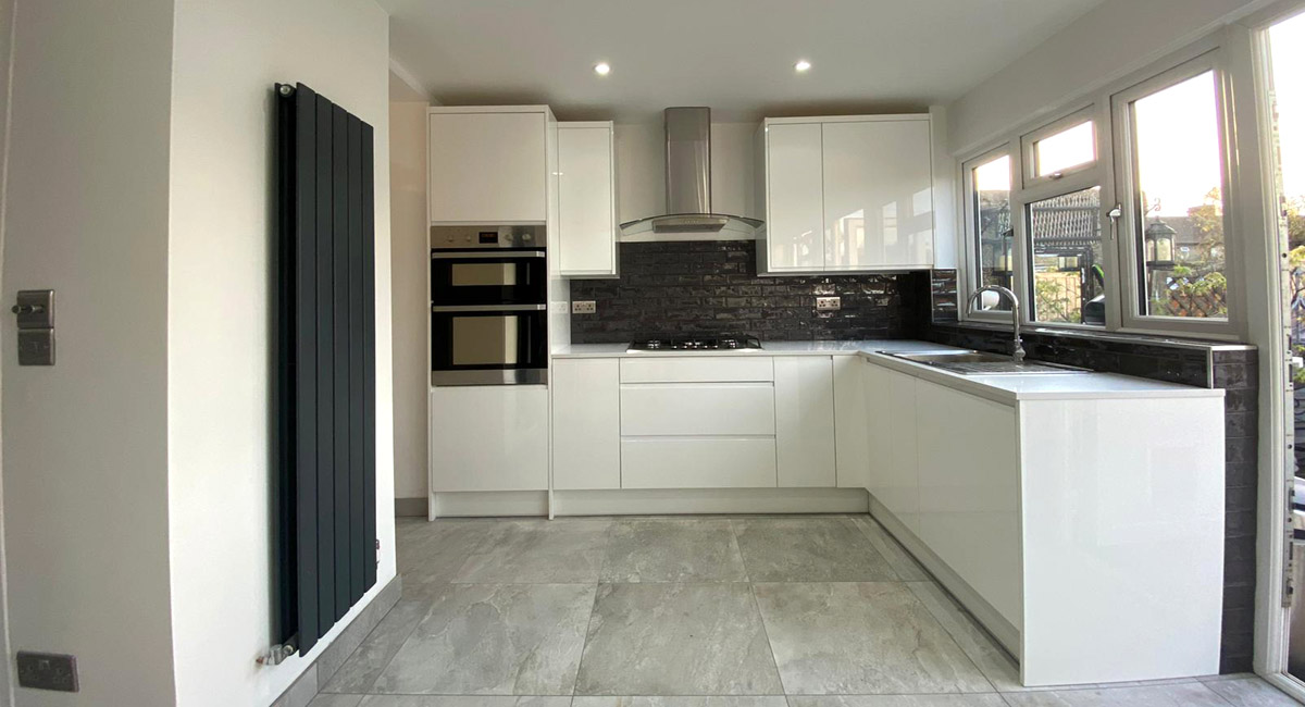 new fitted kitchen