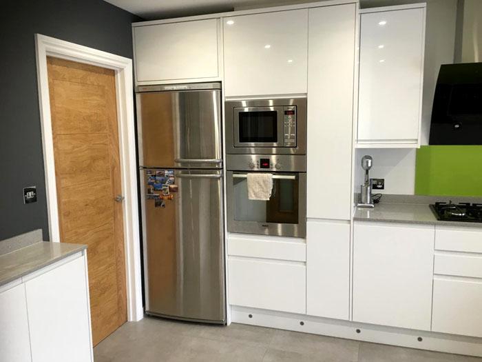new kitchen installation